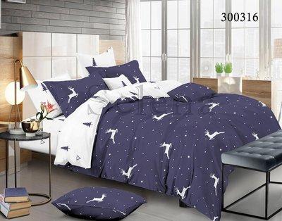 комплект постельно білизни з оленями
